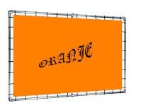 spandoekteksten oranje